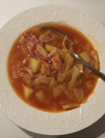 Tøm køleskabet suppe