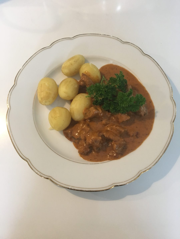 Bøf stroganoff