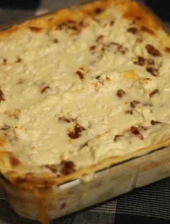 Lasagne med fetaost