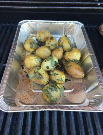 Kartofler med oregano