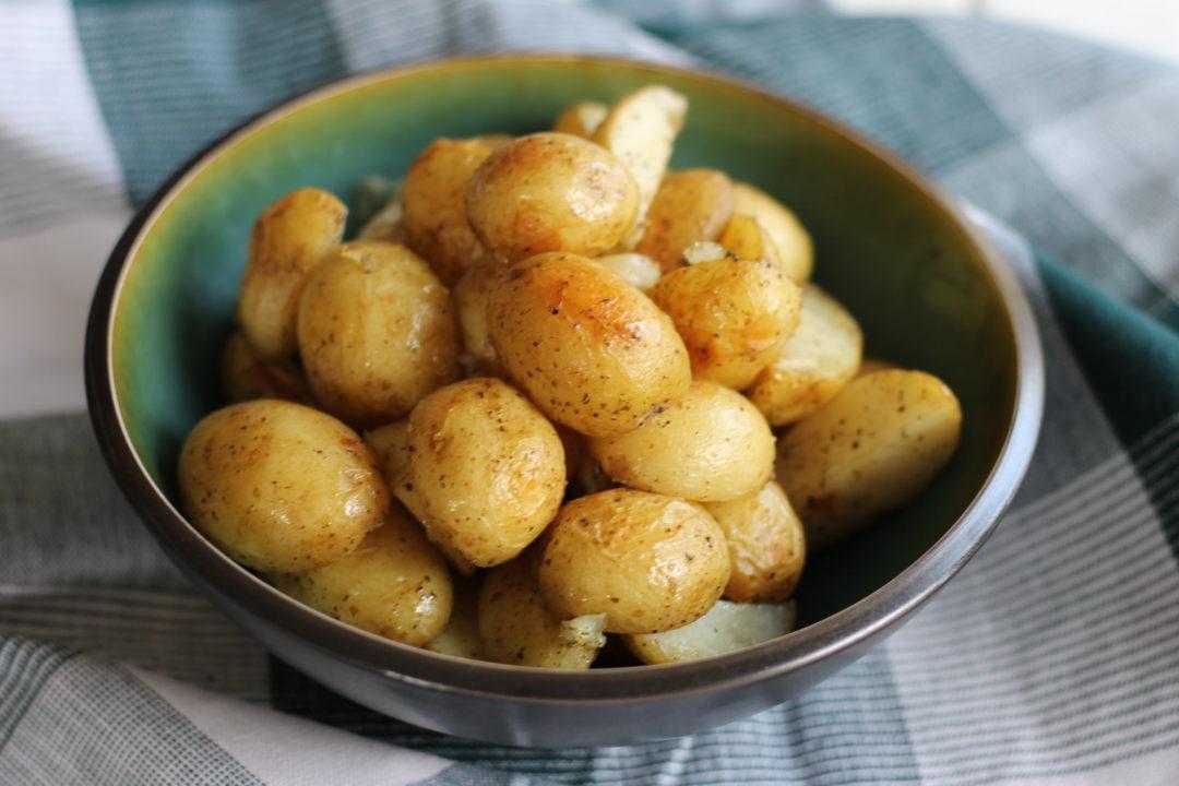 Små ovnbagte kartofler