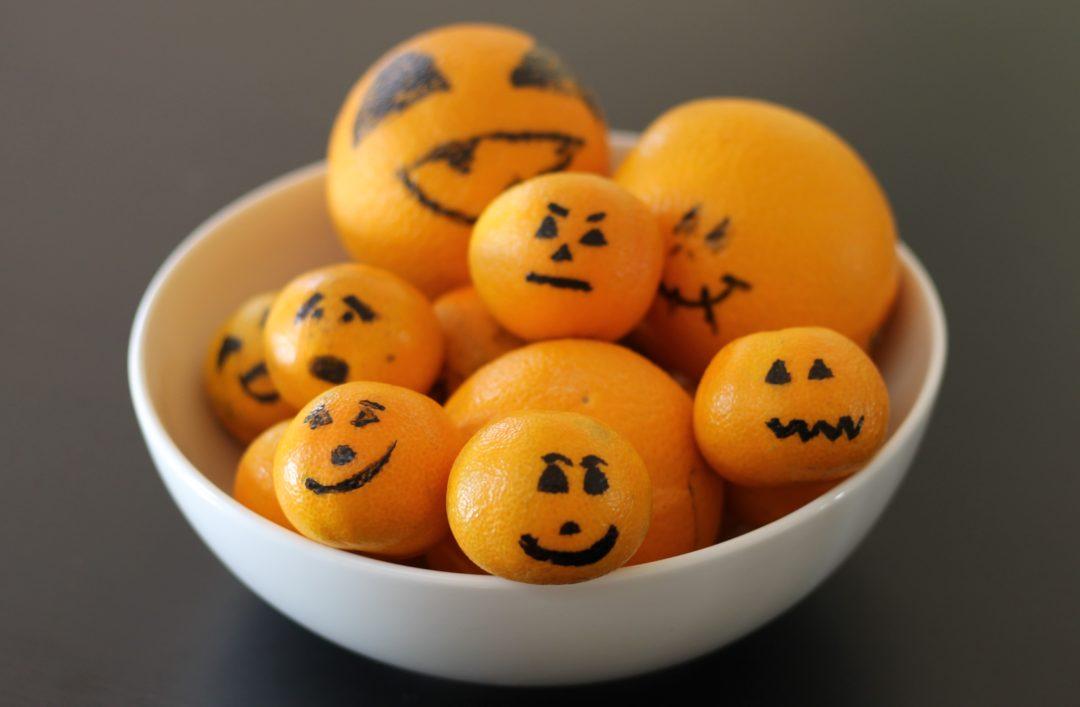 Halloween clementiner