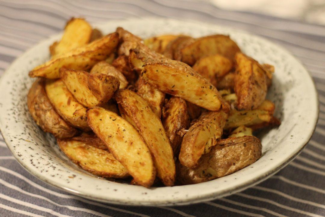 Kartoffelbåde i actifry