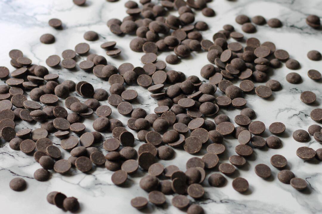 Temperering af mørk chokolade i mikroovn
